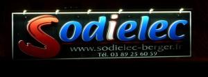 ENSEIGNES RELIEFS - SODIELEC