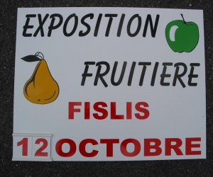 PANNEAU - EXPOSITION FRUITIERE