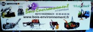 BANDEROLE - BOIS ENVIRONNEMENT