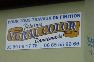 ENSEIGNES PLANES - VURAL COLOR