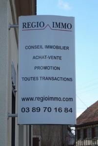 ENSEIGNES PLANES - REGIO IMMO
