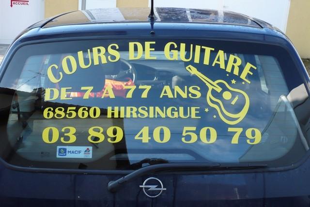 VEHICULES - VOITURES - COURS DE GUITARE