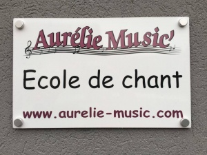 PLAQUE - AURELIE MUSIC
