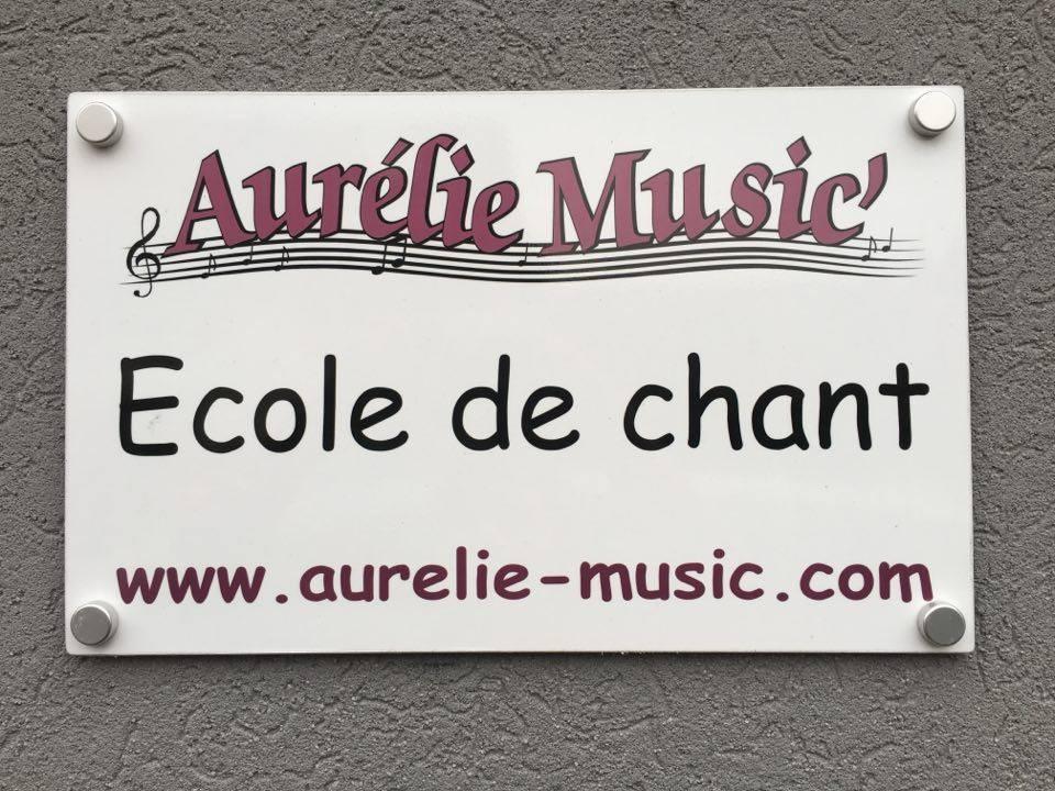 PLAQUE - AURELIE MUSIC