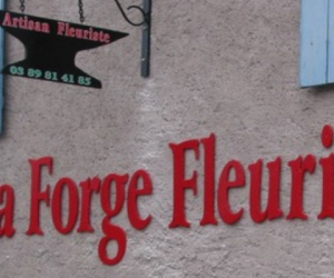 ENSEIGNE - ENSEIGNES RELIEF - LA FORGE FLEURIE