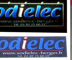 ENSEIGNE - ENSEIGNES RELIEF - SODIELEC